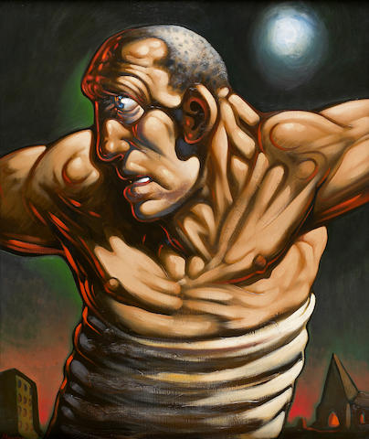 Peter Howson (British, born 1958) Messiah