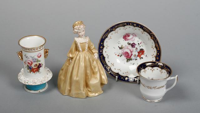 A Royal Worcester figure 'Grandmother's Dress'