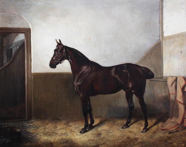 (n/a) John Alfred Wheeler of Bath (British, 1821-1903) 71.5 x 91cm.