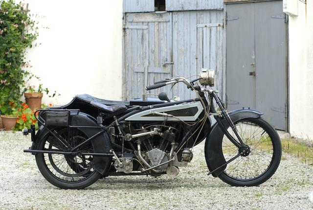 1920 Acme 8hp Motorcycle Combination Frame no. T2066 Engine no. 8/69242/EXIL