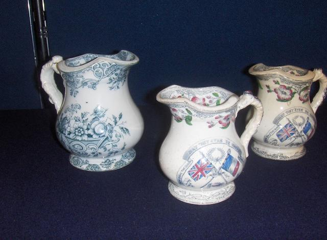 Three Llanelly jugs