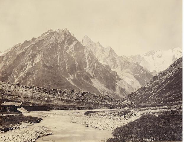 BOURNE & SHEPHERD  Views at Simla, Kashmir, and elsewhere, 1870s