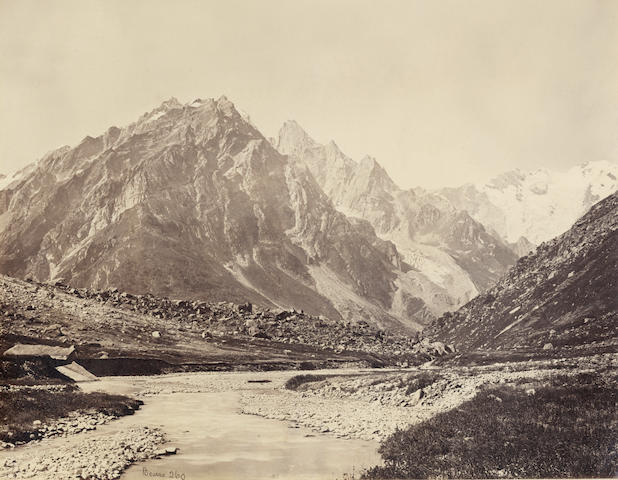 BOURNE & SHEPHERD  Views at Simla, Kashmir, and elsewhere, 1870s