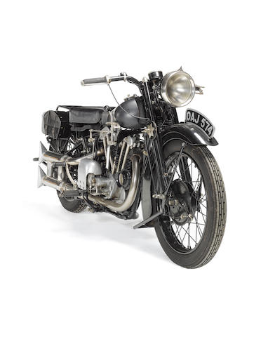 1929 Brough Superior Overhead 680