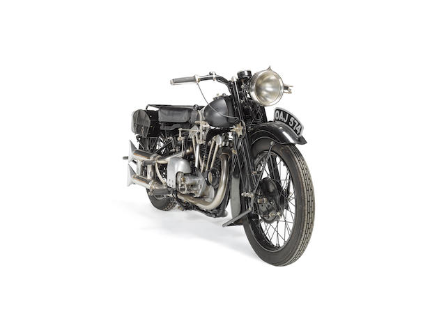 1929 Brough Superior Overhead 680  Frame no. H874