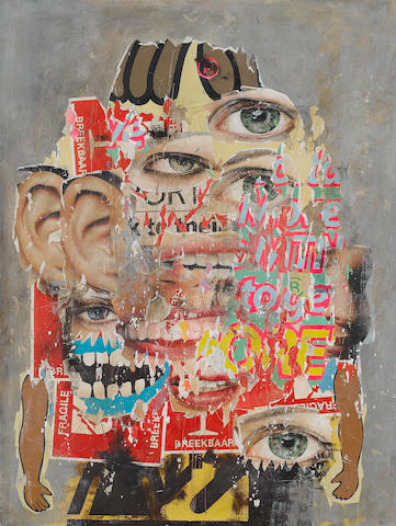 Asha Zero (South African, born 1975) 'Assorted Bystander (Two)', 2008