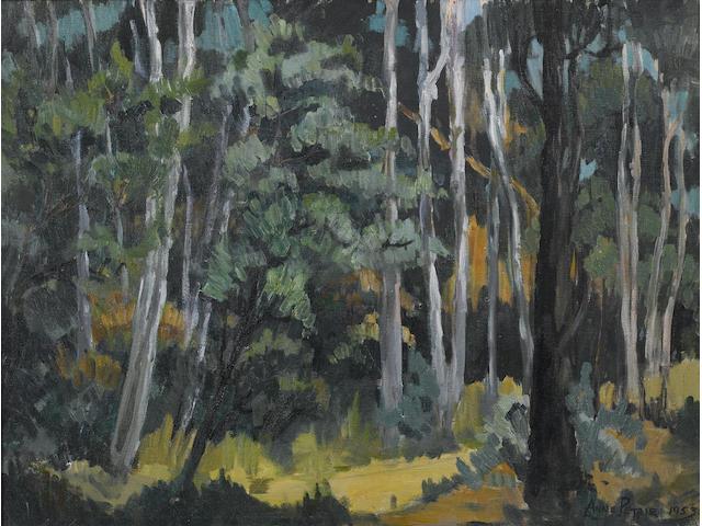 Helen Anne Petrie (South African, 1932-2006) A forest track, Zanzibar