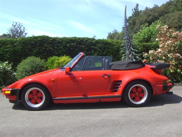 1989 Porsche 911 'Flat Nose' Turbo Cabriolet  Chassis no. WPOEB0935K5070341