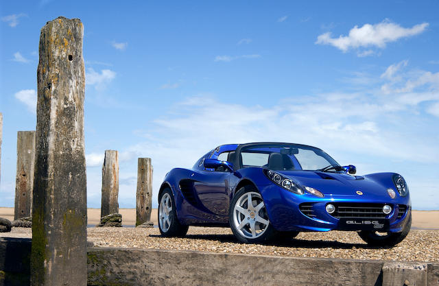 Deliver mileage only, sold in aid of UNICEF,2008 Lotus Elise S Roadster  Chassis no. to be advised Engine no. to be advised
