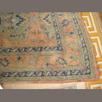 A Turkey carpet  425cm x 365cm approximately