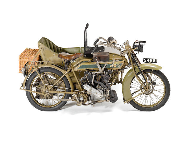 1914 Matchless 8hp Combination