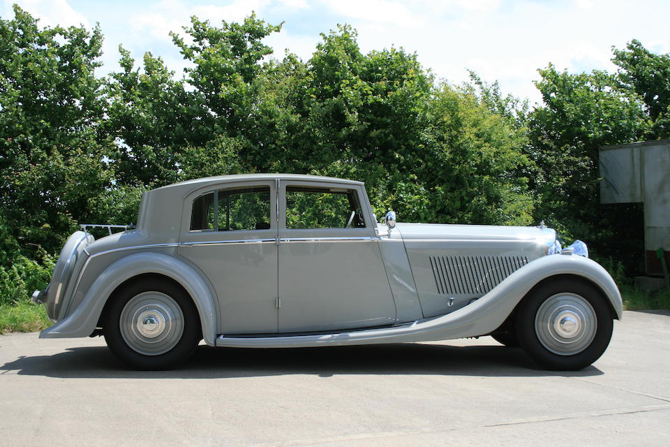 1935 Bentley 3½-Litre Sports Saloon  Chassis no. B6EF Engine no. M9BR
