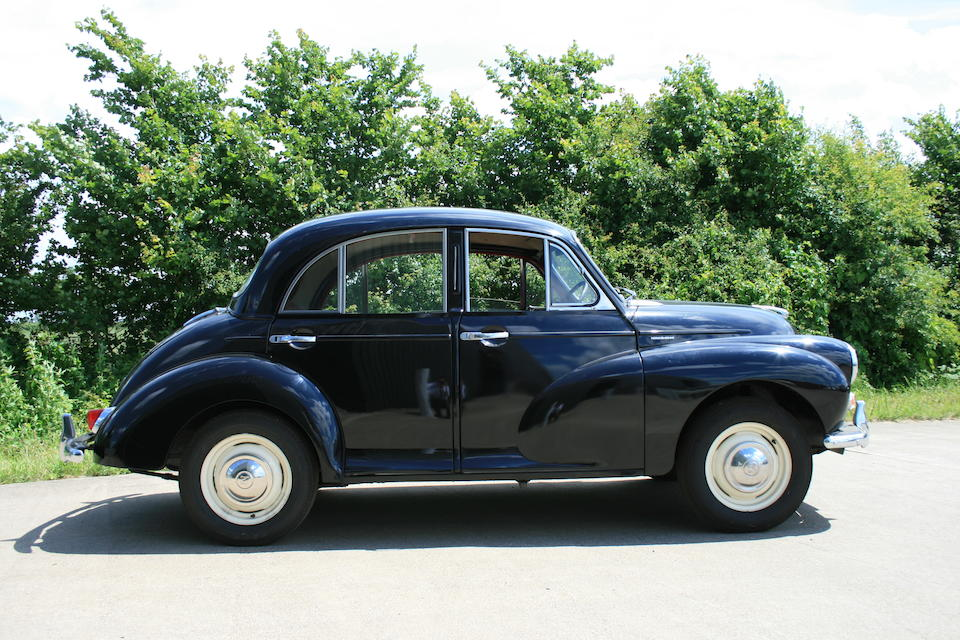 1960 Morris Minor 1000 Saloon  Chassis no. M/A55 858072 Engine no. 8C25 EP14037