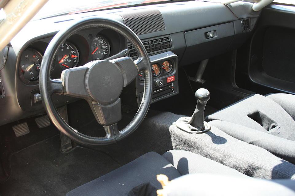 1982 Porsche 924 Carrera GTS Coupé  Chassis no. WPOZZZ93ZBS710044 Engine no. 4710053