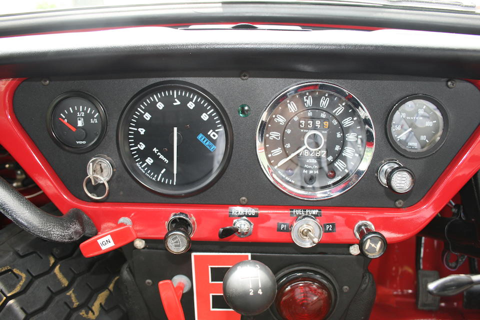 The ex-Roy Fidler/John Hopwood, works,1962 Triumph Spitfire Hardtop Roadster  Chassis no. X692 Engine no. FC2HE