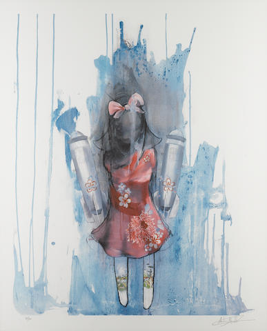 Antony Micallef (British, born 1975) 'Bomber Girl', 2006