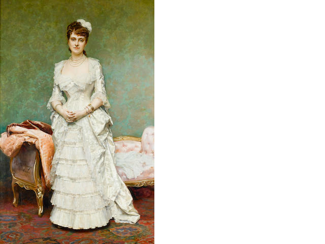 Raimundo de Madrazo y Garretta (Spanish, 1841-1920) Before the Ball