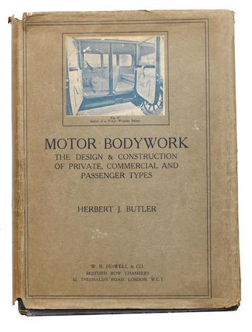 Herbert J Butler: Motor Bodywork,