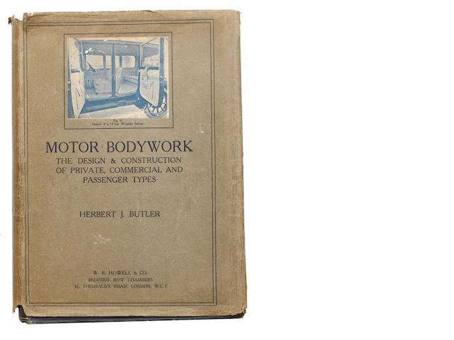 Herbert J Butler' – 'Motor Bodywork',