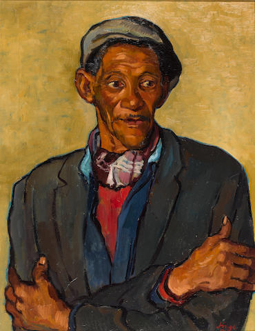 (n/a) Francois Krige (South African, 1913-1994) Montagu burgher