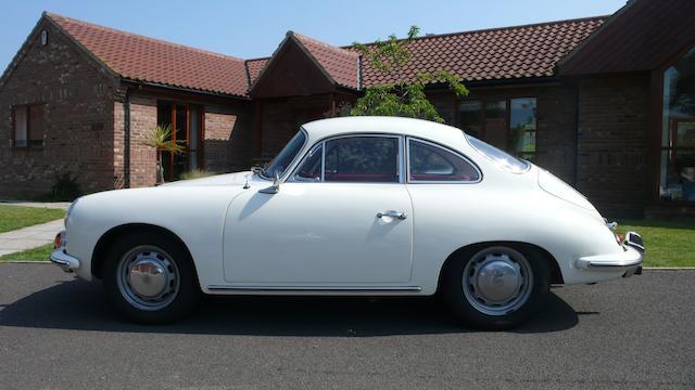1964 Porsche 356C 1600SC Coupé  Chassis no. 130608 Engine no. P811911