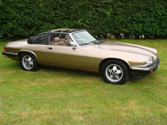 One private owner from new,1986 Jaguar XJ-S 3.6-Litre Cabriolet  Chassis no. CC124957 Engine no. 102370