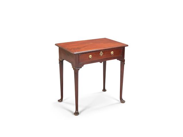 A George II mahogany side table, circa 1750