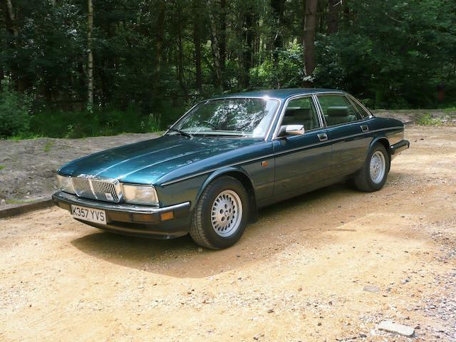 1993 Jaguar Sovereign 4.0-Litre Saloon  Chassis no. SAJJHALD3AJ666437 Engine no. 9EPCNA162861