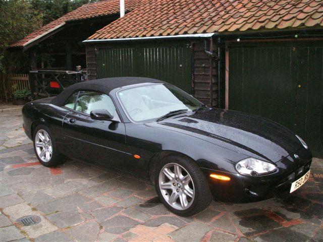 1997 Jaguar XK8 Convertible  Chassis no. SAJJGAFD3AR020716 Engine no. CC9710030351