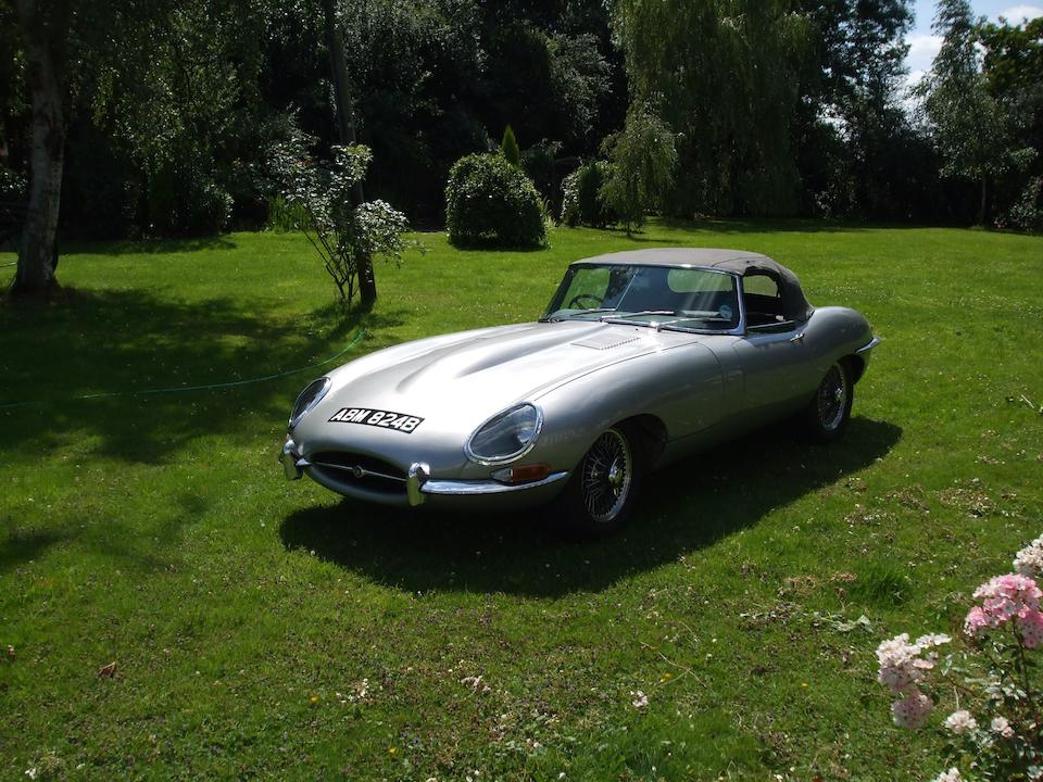 1963 Jaguar E-Type Series I 3.8-Litre Roadster  Chassis no. 879300 Engine no. RA1237-9