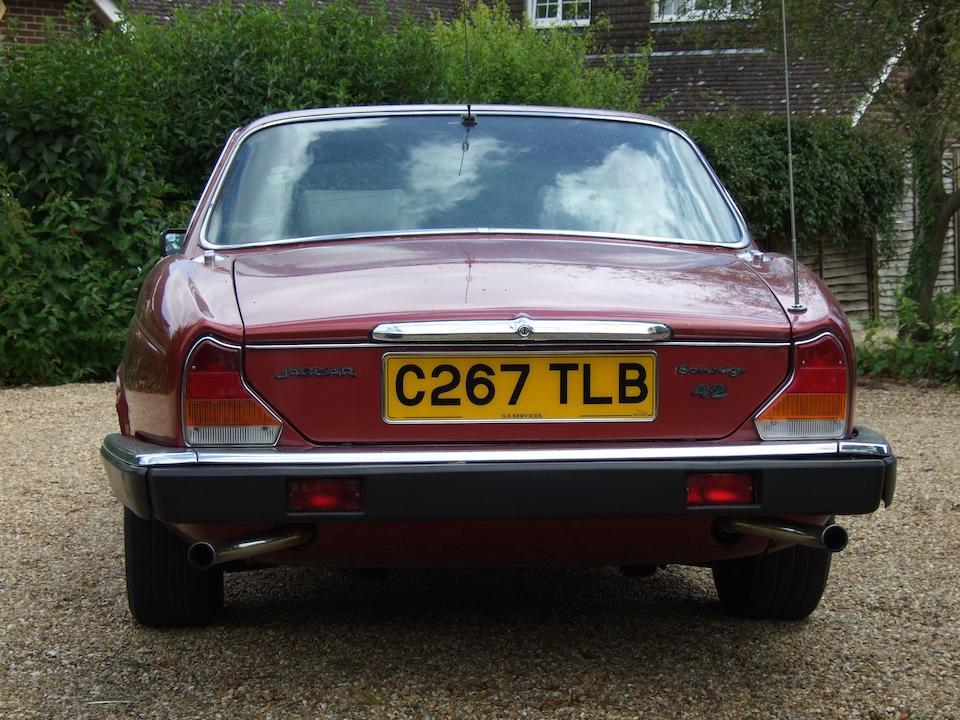 1985 Jaguar Sovereign Series III 4.2-Litre Saloon  Chassis no. SAJJCALP3CC430347 Engine no. 8L188806H