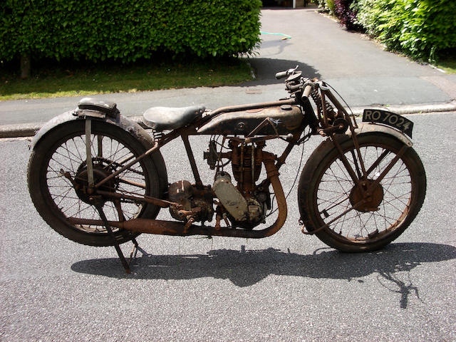1927 Humber 349cc Sports Frame no. 9932 Engine no. 9900