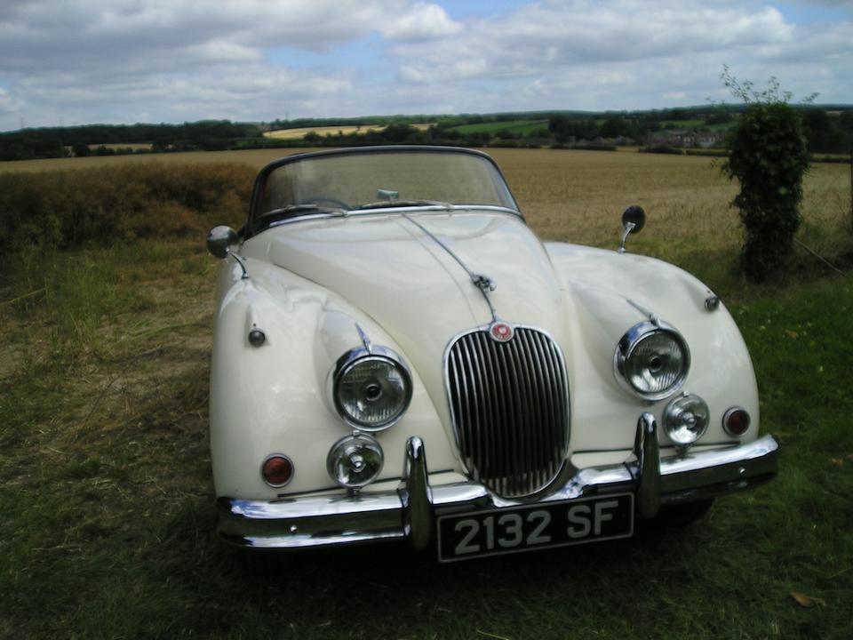 1958 Jaguar XK150S 3.4-Litre Roadster  Chassis no. T820011DN Engine no. VS1655-9