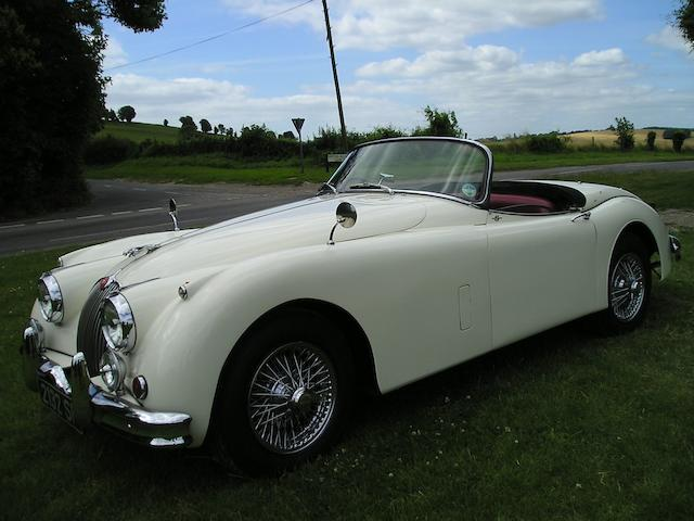 1958 Jaguar XK150S 3.4-Litre Roadster  Chassis no. T820011DN Engine no. VS1655-9