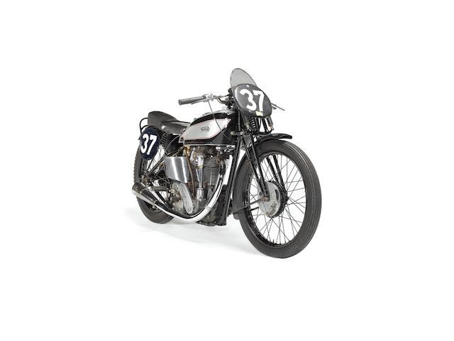 The ex-Johnny Lockett,1936 Norton International 350cc Model 40 to Manx Racing Specification  Frame no. 58360 Engine no. 4119