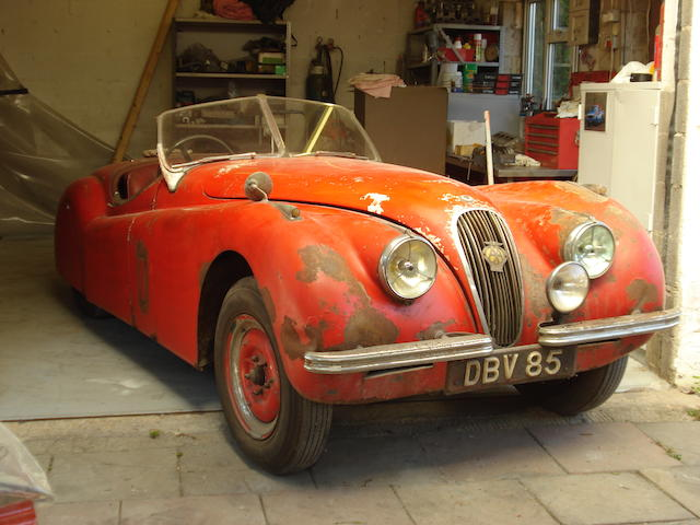 1950 Jaguar XK120 Roadster  Chassis no. 660376 Engine no. W2562-7