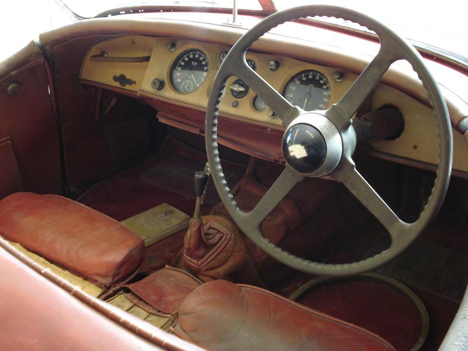 1950 Jaguar XK120 Roadster  Chassis no. 660376 Engine no. W2562-7