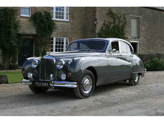 1958 Jaguar MkVIII,