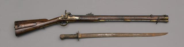 A Scarce Norwegian Kongsberg Jäger 1841 Pattern Rifle