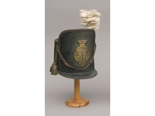 British Infantry Officer's Shako 1812-1816