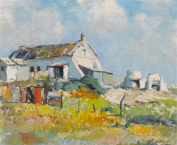 Terence John McCaw (South African, 1913-1978) Lime kilns, Milnerton