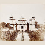 AGRA  Tomb of Itmad ud Daulah by John Murray, c.1858-1862