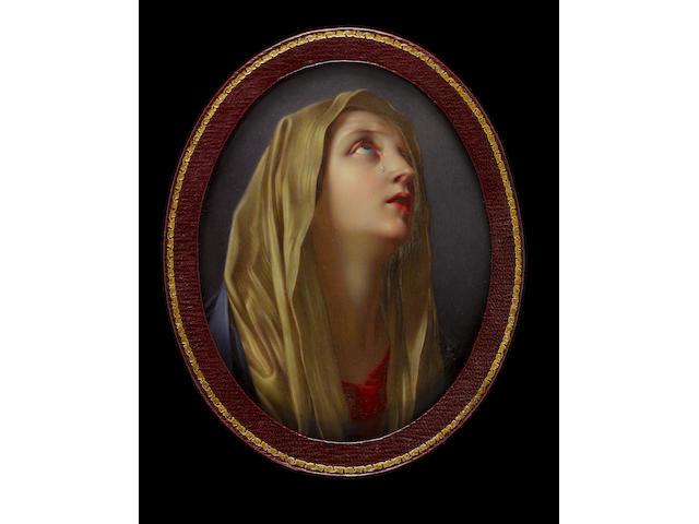 Henry Pierce Bone (British, 1779-1855) The Weeping Madonna