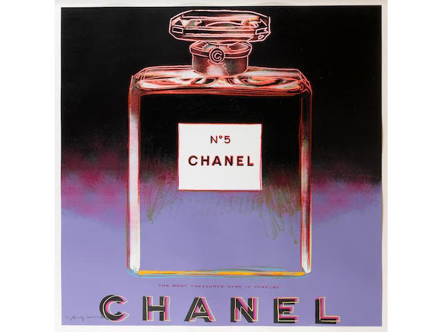 Andy Warhol (American, 1928-1987) 'Chanel' from 'Ads 1985' (Feldman & Schellmann II 354) signed and numbered '181/190' in pencil, printed by Rupert Jasen Smith, New York, published by Ronald Feldman Fine Arts, New York,