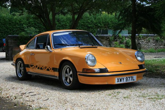 1973 Porsche 911 Carrera RS Touring Coupé 9113600968