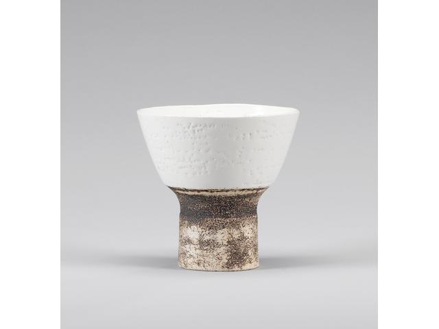 Hans Coper an early Vase Form, circa 1952 Diameter 14cm (5 1/2in.)