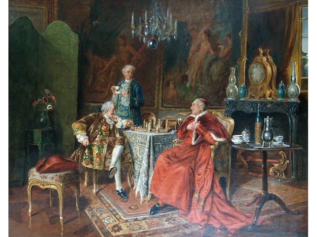Bernard Louis Borione (French, born 1865) Checkmate