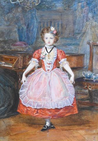 Sir John Everett Millais (British, 1829-1896) The Minuet