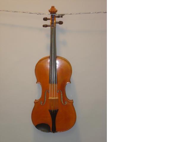 A Mirecourt, Breton Viola circa 1900