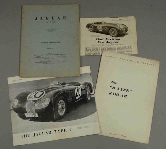 A Jaguar D Type Service Handbook,